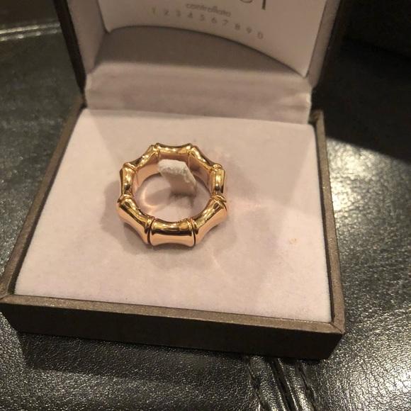 d0a97e731 Gucci Jewelry | 18k Gold Bamboo Ring | Poshmark